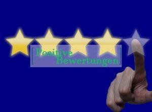 Positive Bewertungen