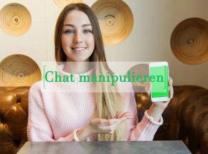 Chat manipulieren